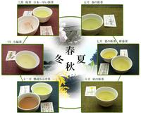 頒布されるお茶のイメージ