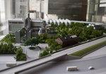 キリンビアビレッジの全体模型