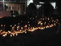 岩首談義所の竹灯りの夕べ