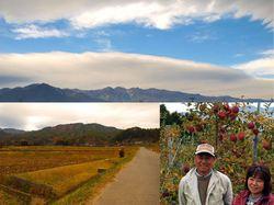 中川村の自然と中山夫妻