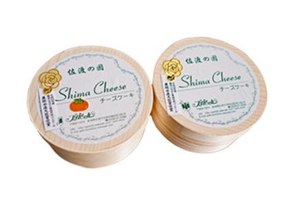 島チーズ(ケーキ )佐渡島