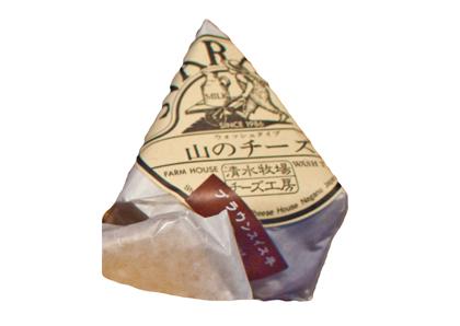 清水牧場チーズ工房「山のチーズ」