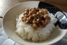 秋田こまち_河内さんのお米で納豆ごはん