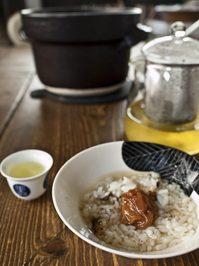 お茶漬けで頂く後藤農園のお米