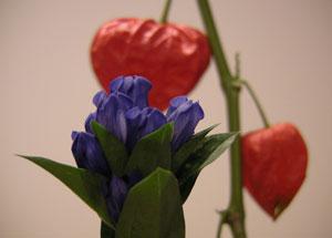 お盆のお花な:キキョウ(桔梗)・なでしこ(撫子)・やまゆり(山百合)・おみなえし(女郎花)などなど